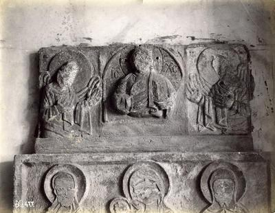 Istanbul, Archaeological Museum, relief with Christ between two angels