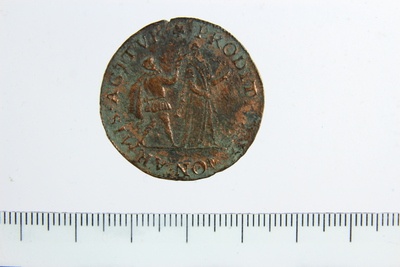 PAN-00001915 - coin/coin-related, (rekenkamer van Holland), (rekenpenning)