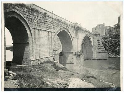 Toledo: Puente de San Martín.