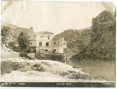 Toledo: Casa del Barco [Casa del Diamantista].