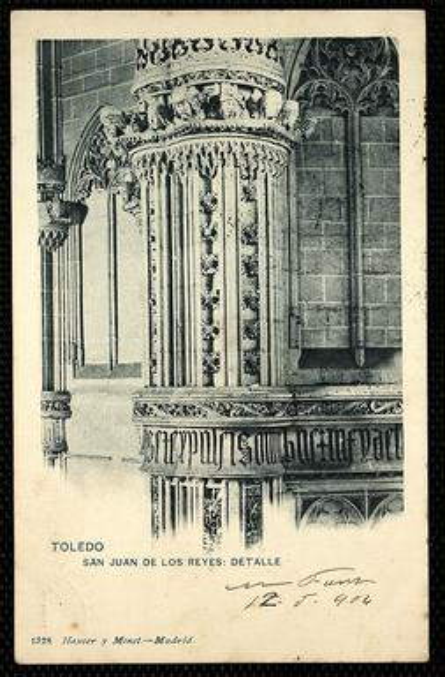Toledo : San Juan de los Reyes : Detalle.-.