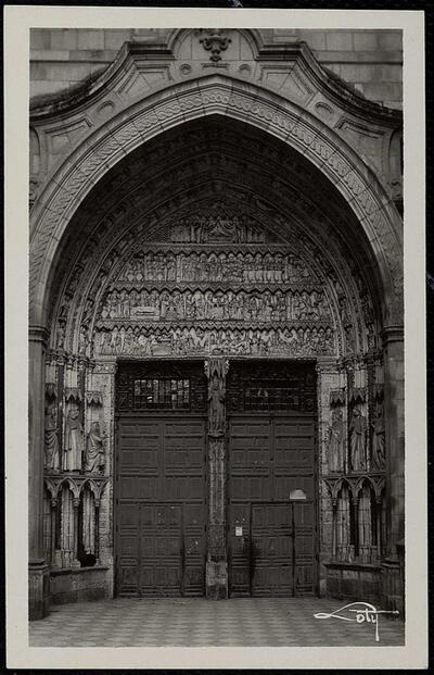 Toledo : Catedral. Puerta del Reloj / Loty.-.
