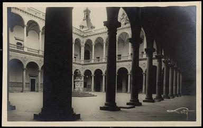 Toledo : Alcázar, el patio / Loty.-.