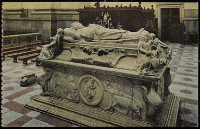 Toledo : Sepulcro del Cardenal Tavera.-.