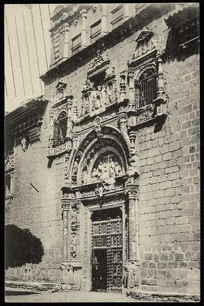 Toledo : Santa Cruz. Fachada.-.