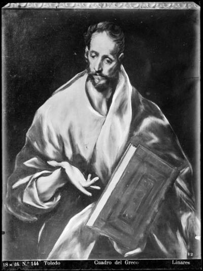 Toledo: Cuadro del Greco [Santiago el Menor].