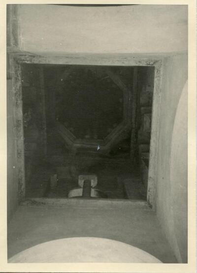 Bóveda de la Mezquita del Cristo de la Luz.