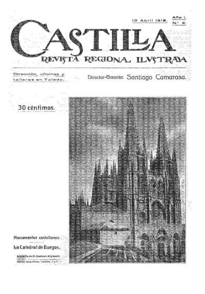 Castilla : revista regional ilustrada. 10/4/1918, n.º 2.