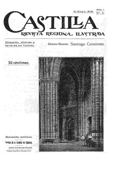 Castilla : revista regional ilustrada. 10/5/1918, n.º 4.