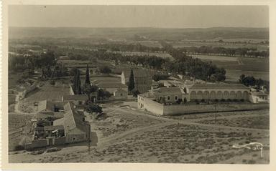 Toledo - Vista general del Cristo de la Vega.-.