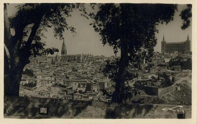 Toledo - Vista panorámica desde la Virgen del Valle.-.