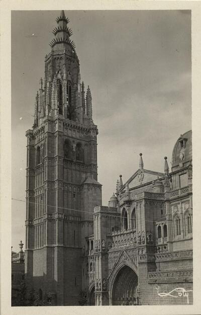 Toledo - Catedral. La Torre.-.