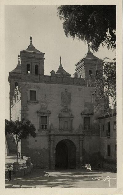 Toledo - Puerta del Cambrón.-.