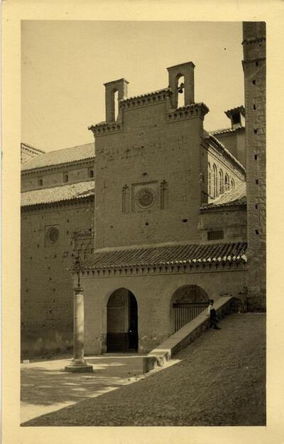 Toledo - Iglesia de Santiago del Arrabal.-.