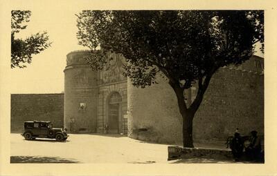 Toledo - Puerta de Bisagra.-.