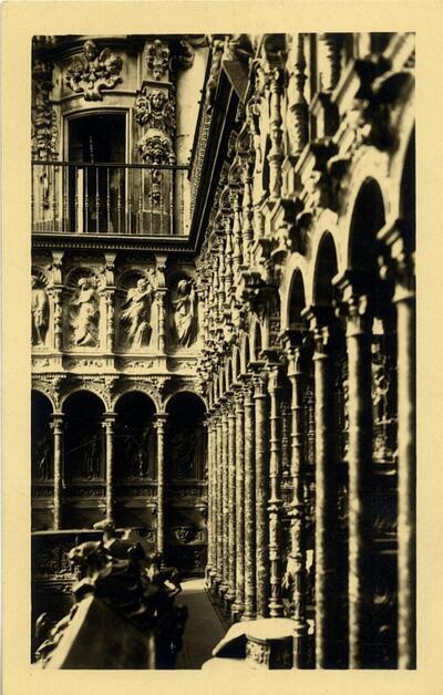 Toledo - Sillería del Coro.-.