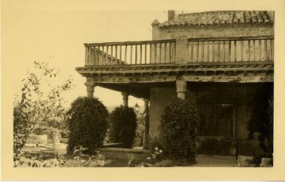Toledo - Jardín y Casa del Greco.-.