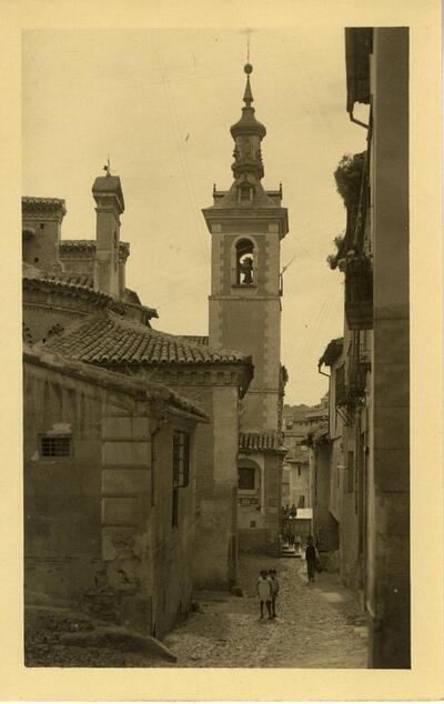 Toledo - Iglesia y cuesta de San Justo.-.
