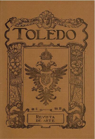 Toledo : revista de arte. 11/1923, n.º 201.
