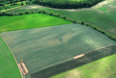 C-DL-201100336 - letfoto vegetačních příznaků