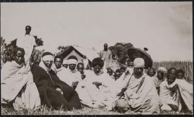 Group photo of Ethiopians  | Guerra in Etiopia