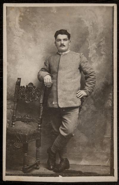 Pietro Scacciati in uniform | Uomo con uniforme