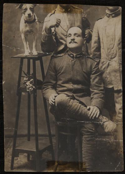 Gino Michelotti (1895-1950) soldier during WWI | Gino Michelotti (1895-1950) soldato durante la prima guerra Mondiale