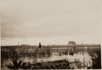 Countryside near Pisa during the flood | Campagne Pisane allagate