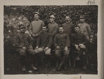Squad of soldiers during WWI | Squadra di soldati della Grande Guerra