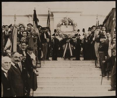 Laurel wreath ceremony | Corona d'alloro