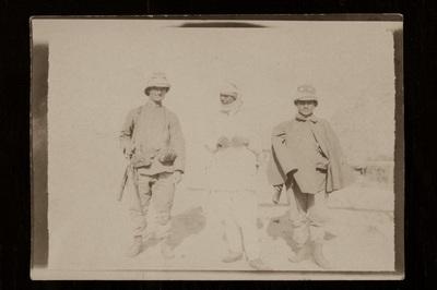 A courier and two soldiers | La staffetta coi soldati