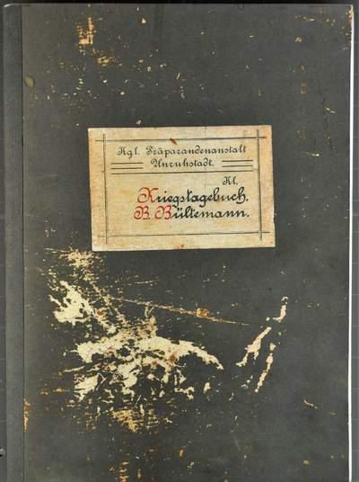 Tagebuch des jungen Bernhard Bültemann aus Halle