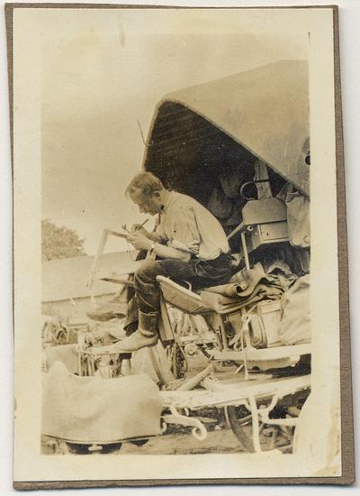 FRAD087_054-Carnets de guerre d'un vaguemestre et homme de lettres