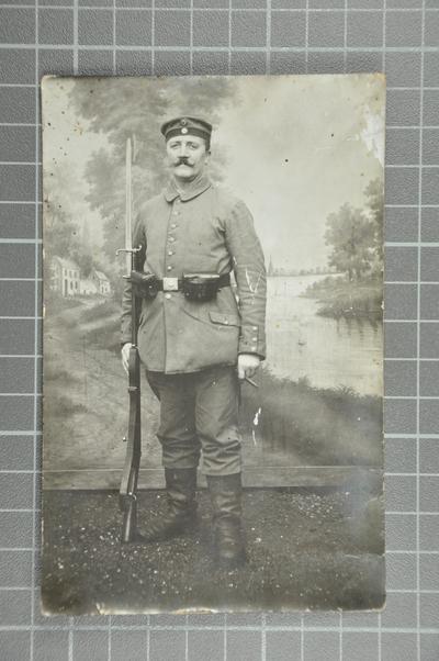 FRAD067-119 Cartes reçues de Wilhelm Keller (1873-1920) (armée allemande) par son épouse Salomé Eberhardt (1874-1955), à Bischheim (Bas-Rhin)