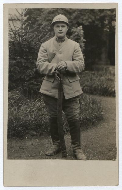 FRBNBU-081 Eugène Louis Bichar, classe 18, mort pour la France grippe espagnole