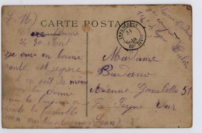 AMSM-003_1 : Carnet de route et correspondance de mon grand-père jusqu'à sa mort