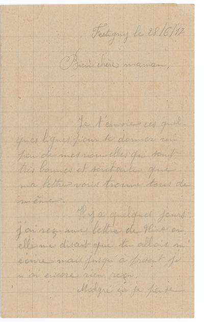 AMSM-008_1 : Lettres du front