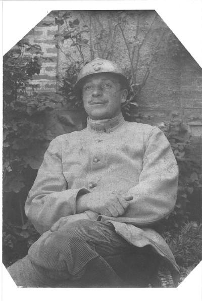 FRAM - Paul DÉZÉ, Sergent du 106e régiment d'infanterie