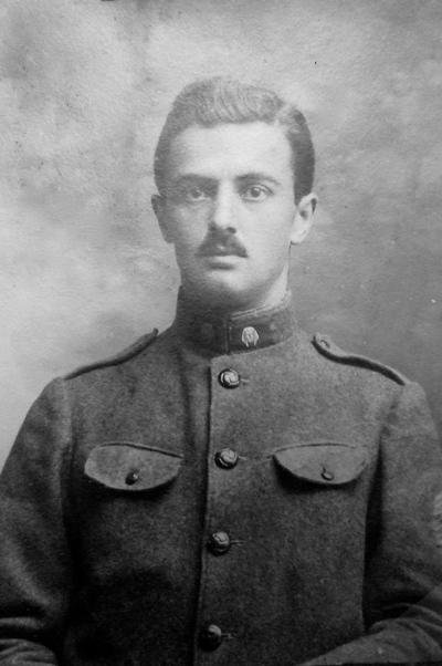 Carnet de route de Maxime Cruat 1914-1919