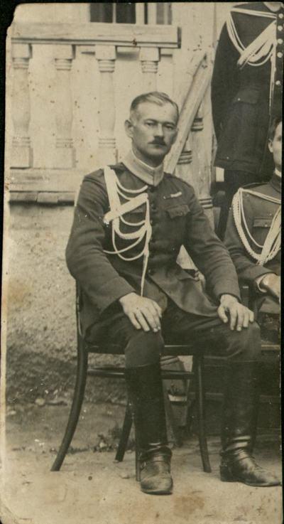 Carol Volosciuc, ofiter in Armata austro-ungara