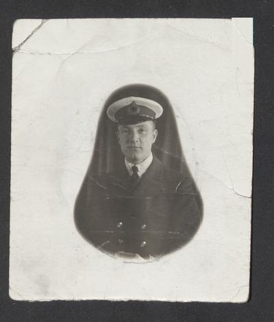 Walter Edward Thorp, Merchant Navy