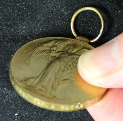 Medal awarded to Private William Fox