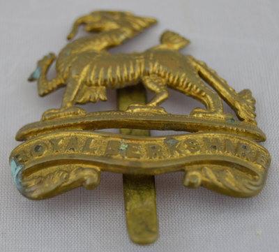 Regimental insignia badge of the Berkshire Regiment