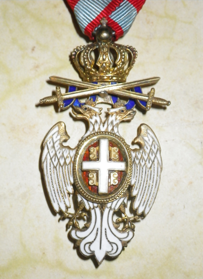 Serbian Order of the White Eagle with Swords