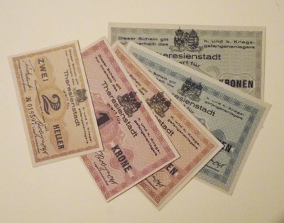 Austrian prison currency (Theresienstadt)