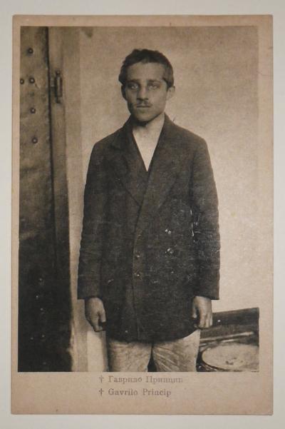 Gavrilo Princip and 'Black Hand' postcards