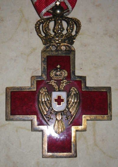 Cross of the Red Cross Society of the Kingdom of Serbia
