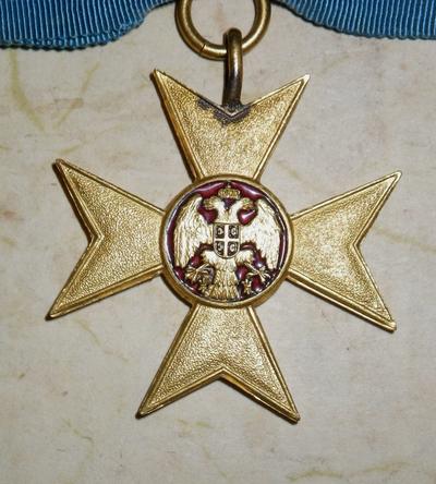 Serbian Cross of Charity