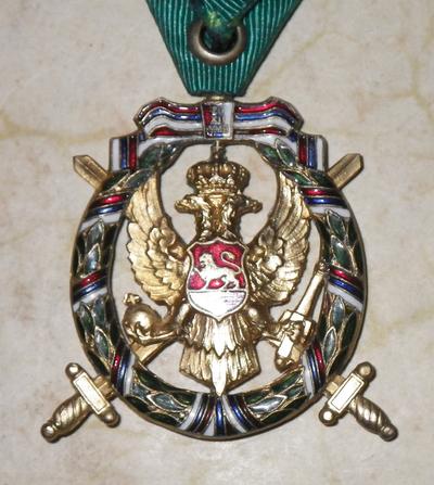 Montenegro Order of Freedom ('Christmas Uprising')