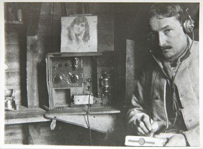Charles Nocq à la télégraphie sans fil